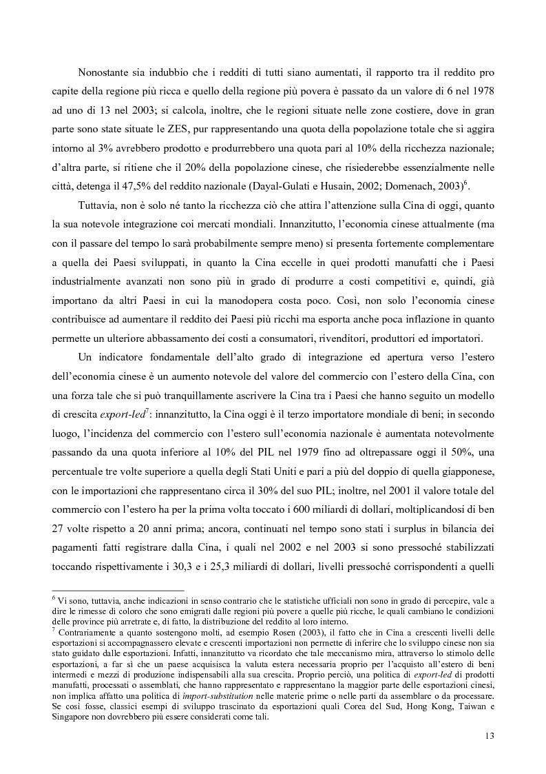 Anteprima della tesi: La Cina tra globalizzazione e democratizzazione, Pagina 11