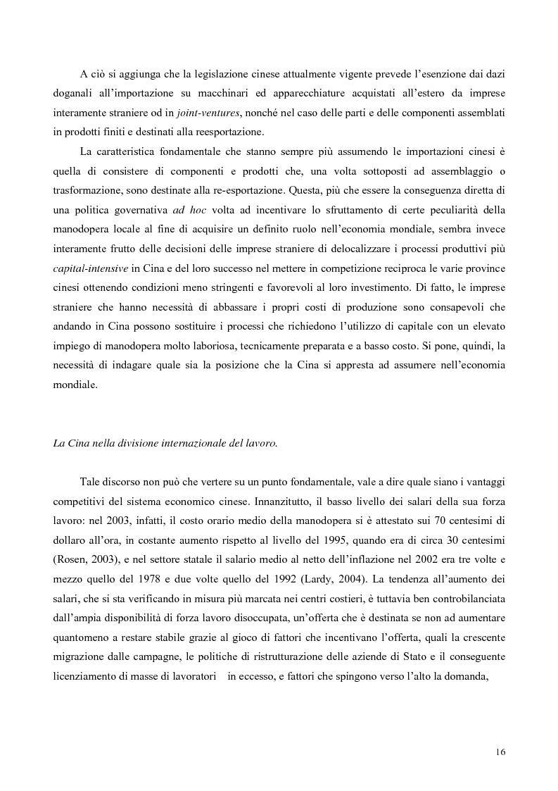 Anteprima della tesi: La Cina tra globalizzazione e democratizzazione, Pagina 14
