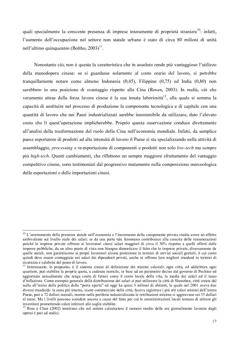 Anteprima della tesi: La Cina tra globalizzazione e democratizzazione, Pagina 15