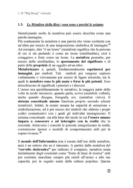 Anteprima della tesi: I Portali Web. Viaggio nella Rete A/R., Pagina 12