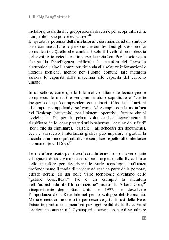 Anteprima della tesi: I Portali Web. Viaggio nella Rete A/R., Pagina 13
