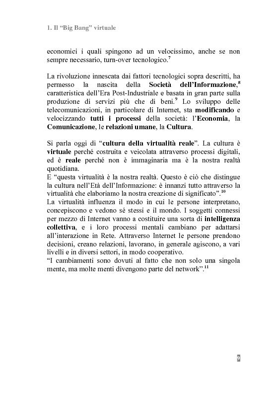 Anteprima della tesi: I Portali Web. Viaggio nella Rete A/R., Pagina 7