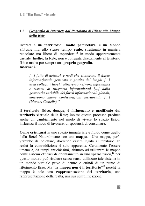 Anteprima della tesi: I Portali Web. Viaggio nella Rete A/R., Pagina 8