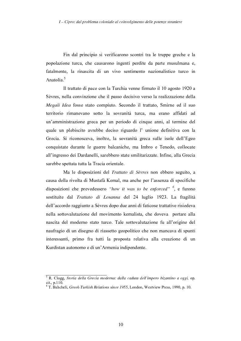 Anteprima della tesi: Cipro: oltre la mediazione. Un trentennio di fallimenti e la speranza di un compromesso europeo, Pagina 10