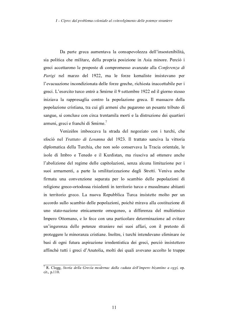 Anteprima della tesi: Cipro: oltre la mediazione. Un trentennio di fallimenti e la speranza di un compromesso europeo, Pagina 11