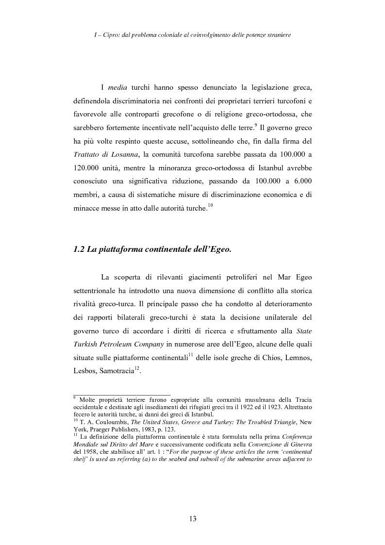 Anteprima della tesi: Cipro: oltre la mediazione. Un trentennio di fallimenti e la speranza di un compromesso europeo, Pagina 13
