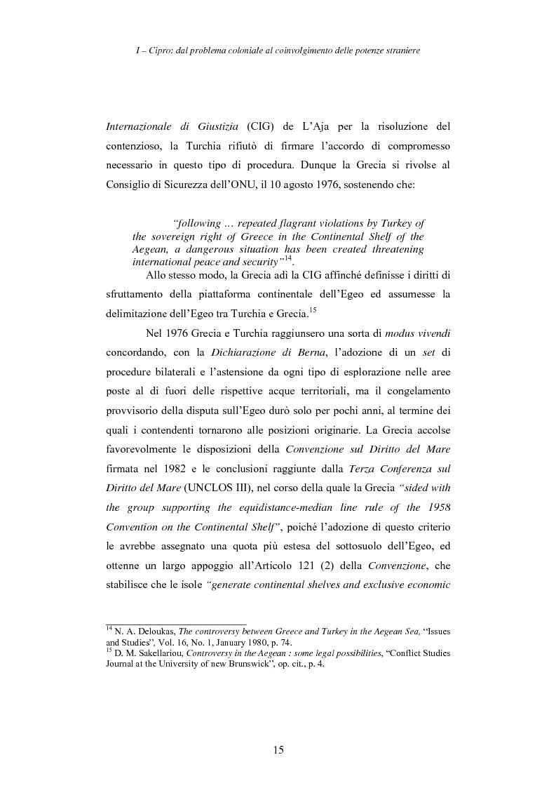 Anteprima della tesi: Cipro: oltre la mediazione. Un trentennio di fallimenti e la speranza di un compromesso europeo, Pagina 15
