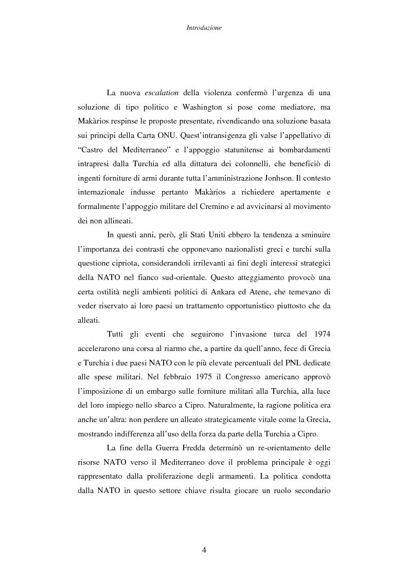 Anteprima della tesi: Cipro: oltre la mediazione. Un trentennio di fallimenti e la speranza di un compromesso europeo, Pagina 4