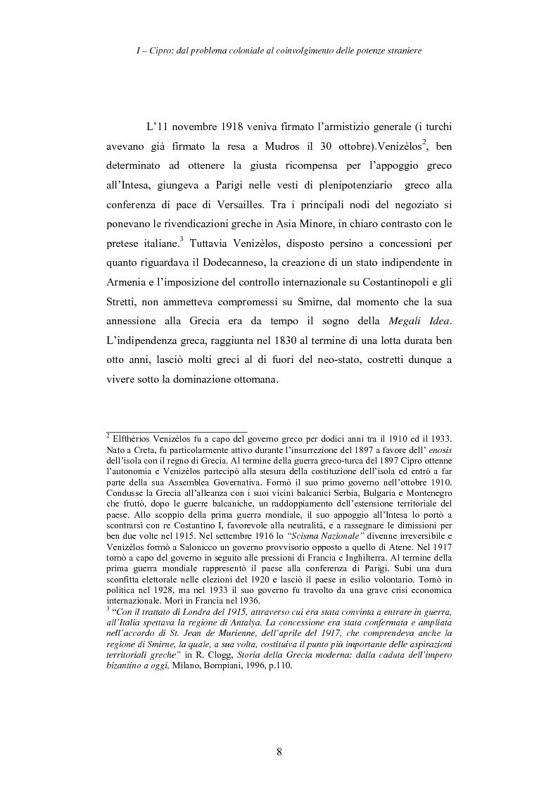 Anteprima della tesi: Cipro: oltre la mediazione. Un trentennio di fallimenti e la speranza di un compromesso europeo, Pagina 8