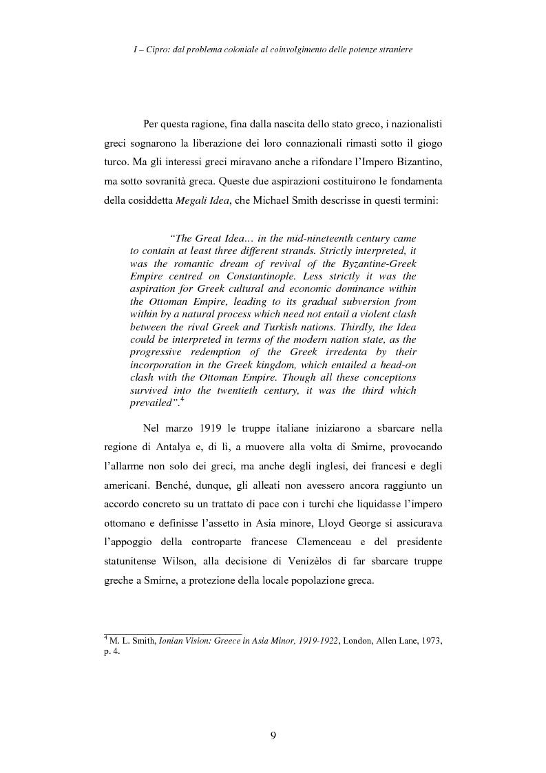 Anteprima della tesi: Cipro: oltre la mediazione. Un trentennio di fallimenti e la speranza di un compromesso europeo, Pagina 9