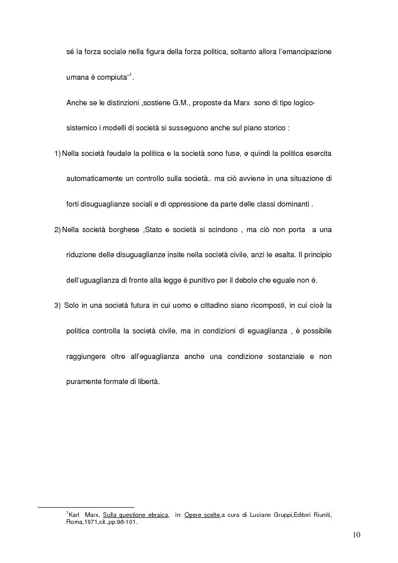 Anteprima della tesi: La sociologia di Guido Martinotti, Pagina 5