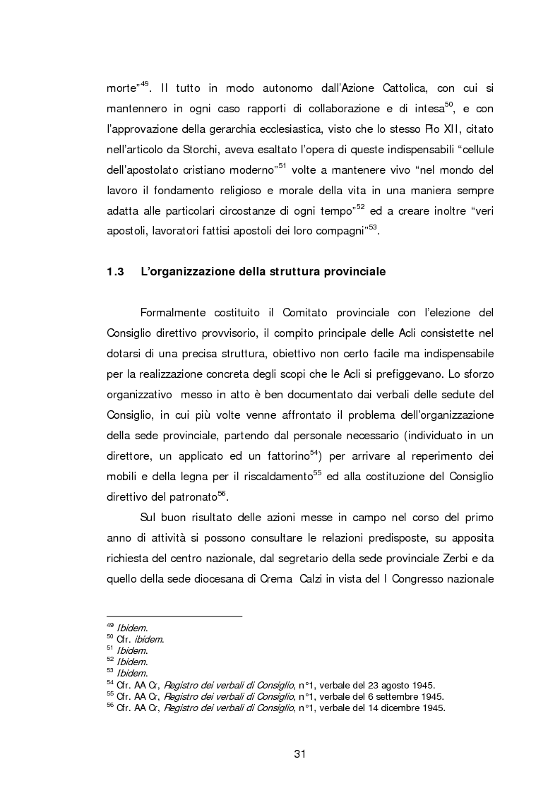 Anteprima della tesi: Le Acli di Cremona e della sua provincia nel secondo dopoguerra, Pagina 10