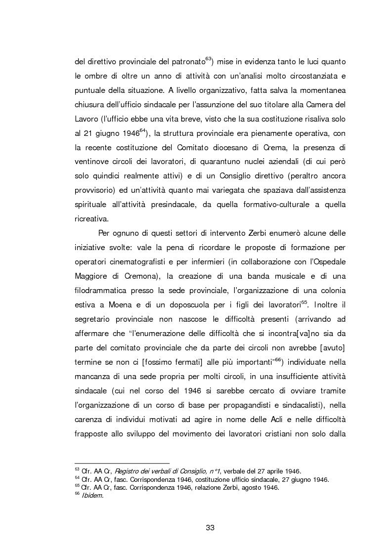 Anteprima della tesi: Le Acli di Cremona e della sua provincia nel secondo dopoguerra, Pagina 12