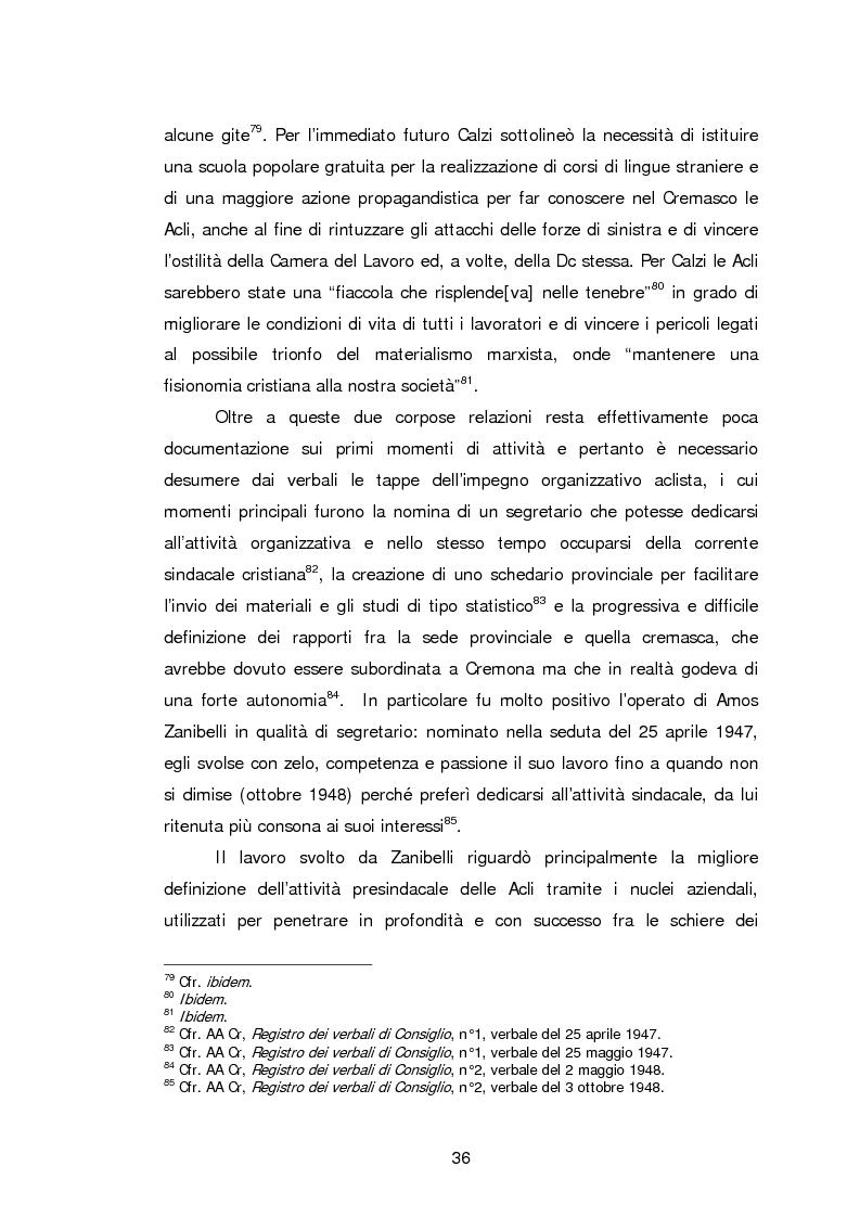 Anteprima della tesi: Le Acli di Cremona e della sua provincia nel secondo dopoguerra, Pagina 15