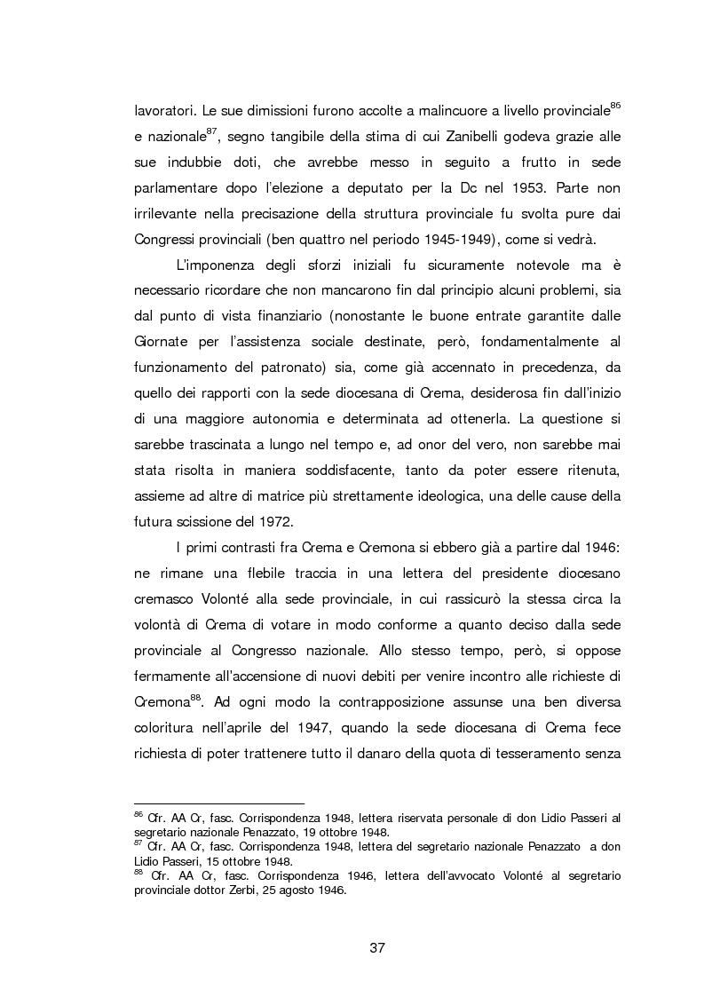 Anteprima della tesi: Le Acli di Cremona e della sua provincia nel secondo dopoguerra, Pagina 16