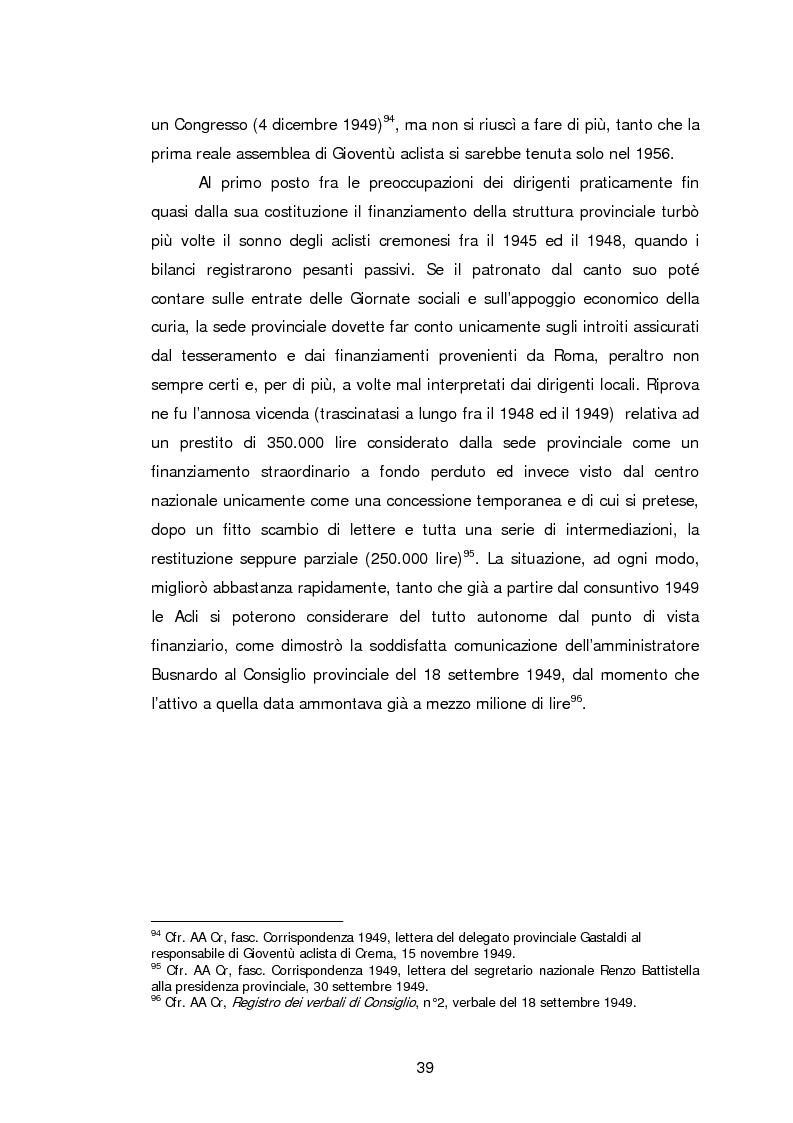 Anteprima della tesi: Le Acli di Cremona e della sua provincia nel secondo dopoguerra, Pagina 18
