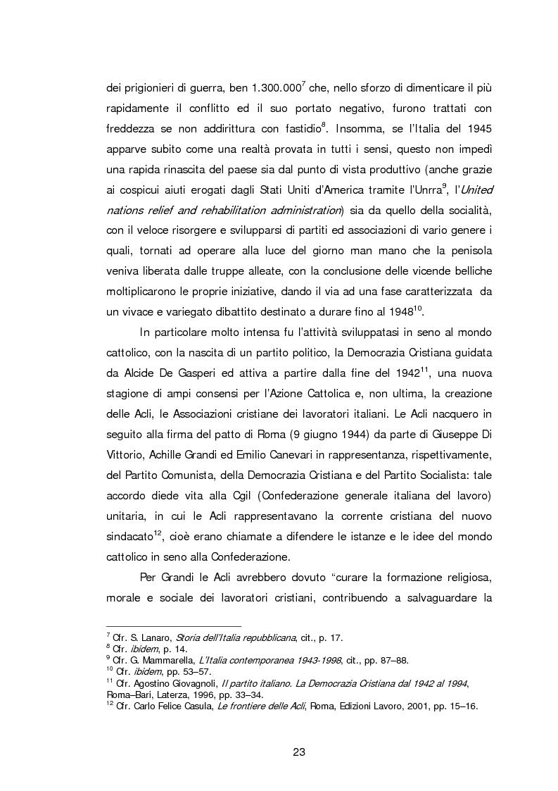 Anteprima della tesi: Le Acli di Cremona e della sua provincia nel secondo dopoguerra, Pagina 2