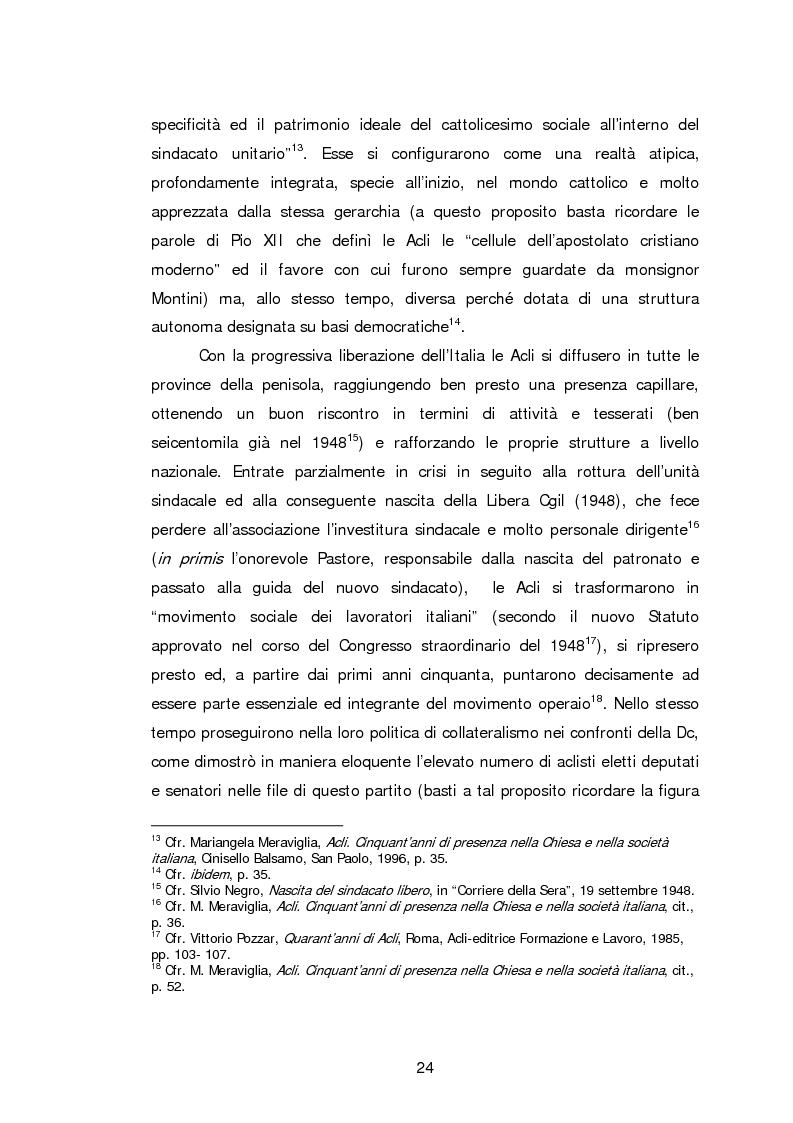 Anteprima della tesi: Le Acli di Cremona e della sua provincia nel secondo dopoguerra, Pagina 3