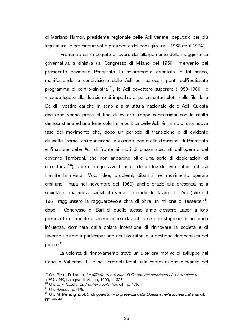 Anteprima della tesi: Le Acli di Cremona e della sua provincia nel secondo dopoguerra, Pagina 4