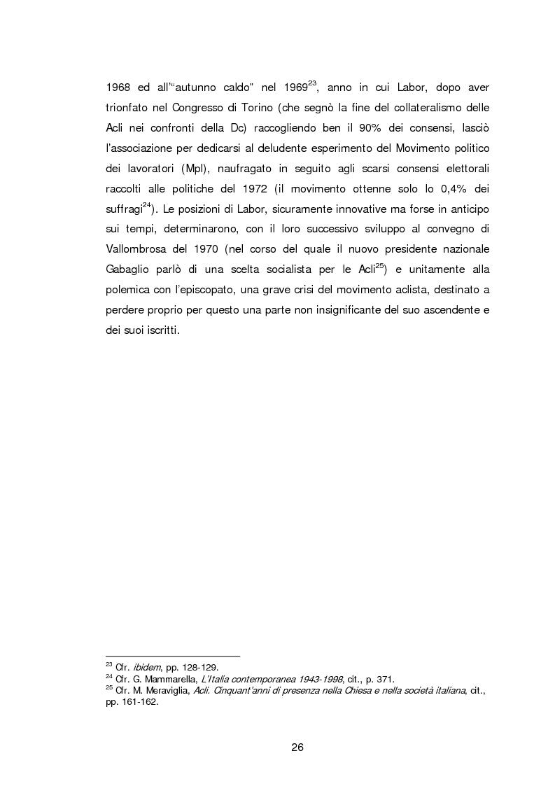 Anteprima della tesi: Le Acli di Cremona e della sua provincia nel secondo dopoguerra, Pagina 5