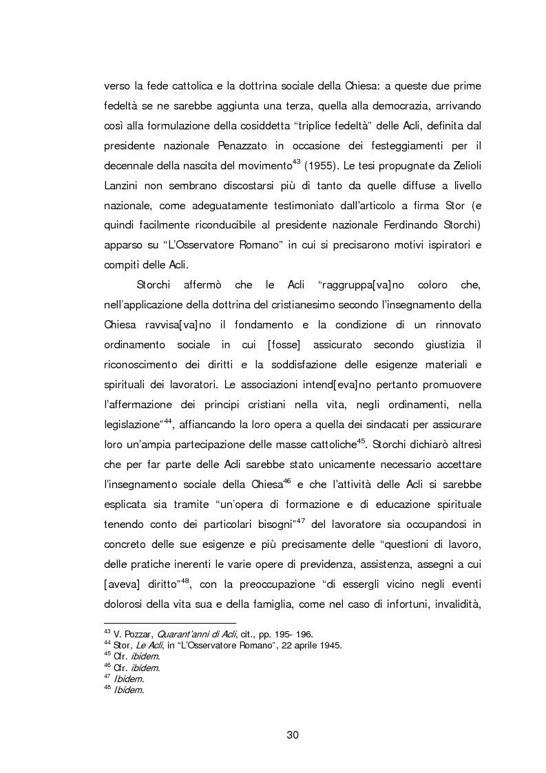 Anteprima della tesi: Le Acli di Cremona e della sua provincia nel secondo dopoguerra, Pagina 9