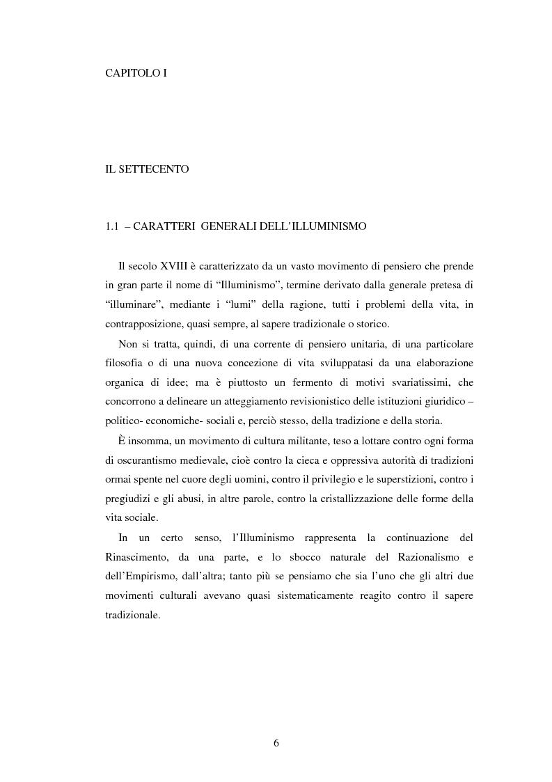 Anteprima della tesi: L'educazione naturale di Rousseau, Pagina 4