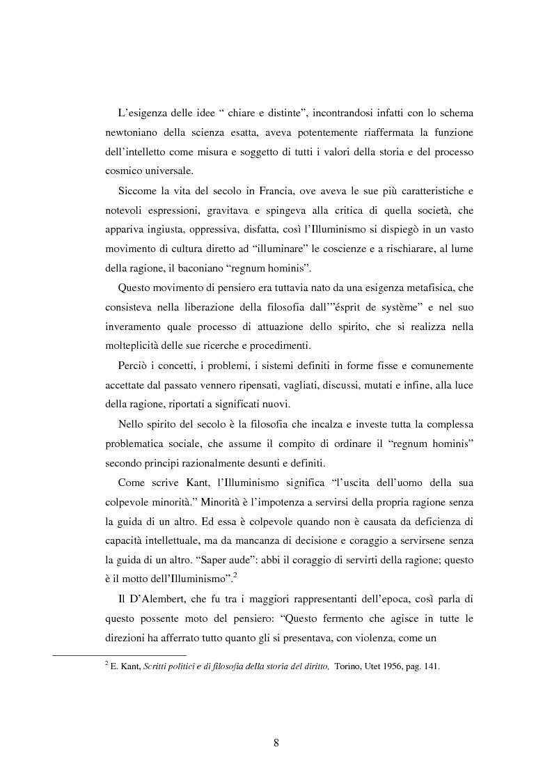 Anteprima della tesi: L'educazione naturale di Rousseau, Pagina 6