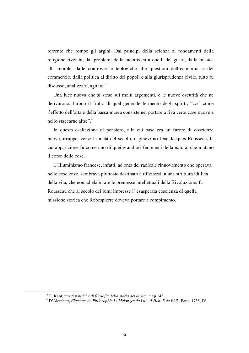 Anteprima della tesi: L'educazione naturale di Rousseau, Pagina 7