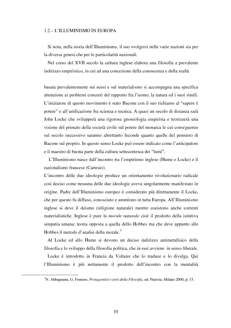 Anteprima della tesi: L'educazione naturale di Rousseau, Pagina 8