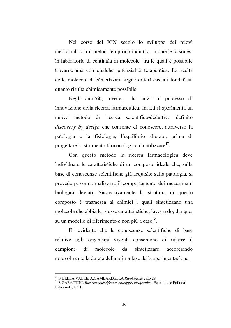 Anteprima della tesi: Le attività di ricerca e sviluppo nel settore delle biotecnologie, Pagina 13