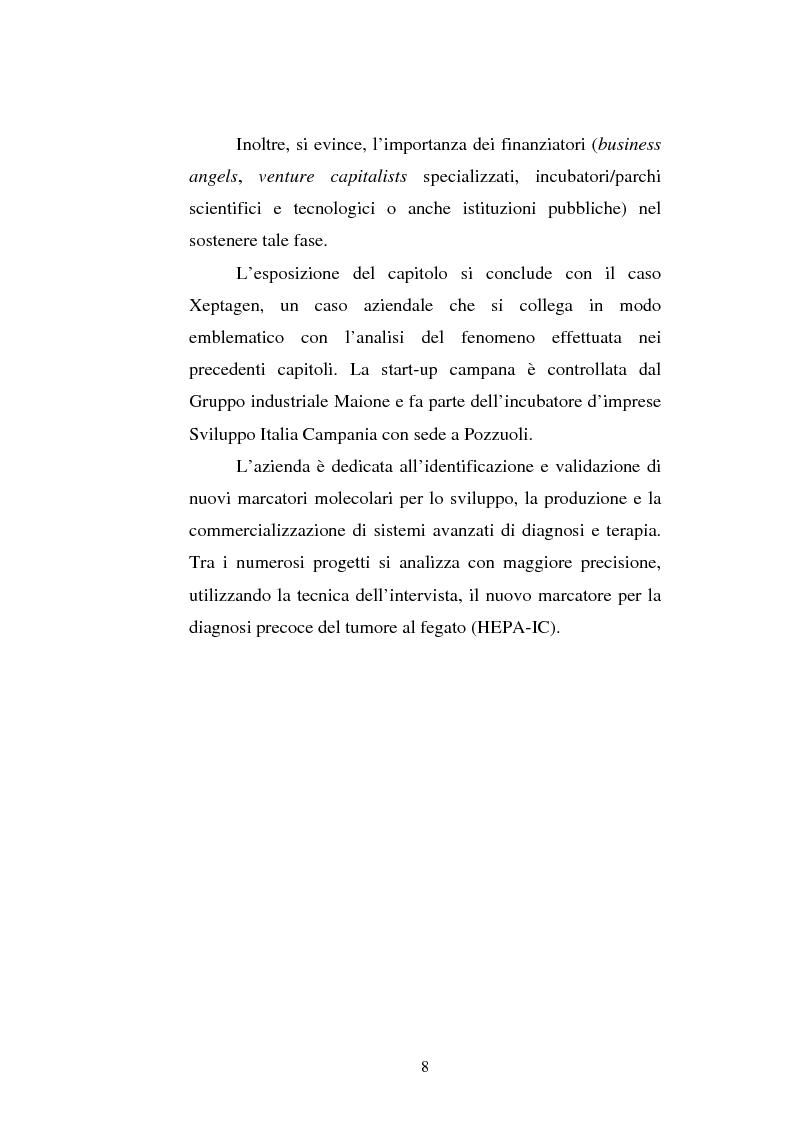 Anteprima della tesi: Le attività di ricerca e sviluppo nel settore delle biotecnologie, Pagina 5