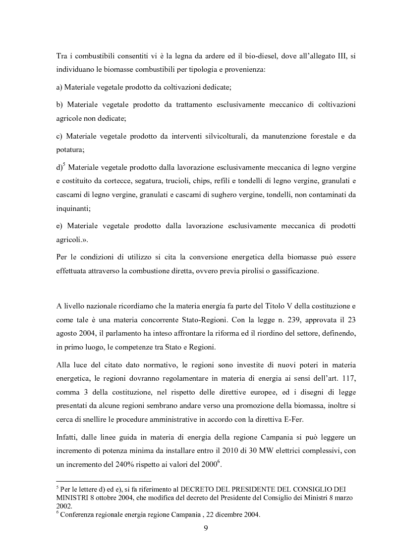 Anteprima della tesi: Potenzialità dei biocombustibili solidi nelle province italiane, Pagina 7