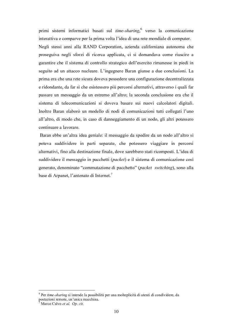 Anteprima della tesi: La diffusione di Internet in Cina: peculiarità e caratteristiche del controllo governativo all'uso di Internet, Pagina 10