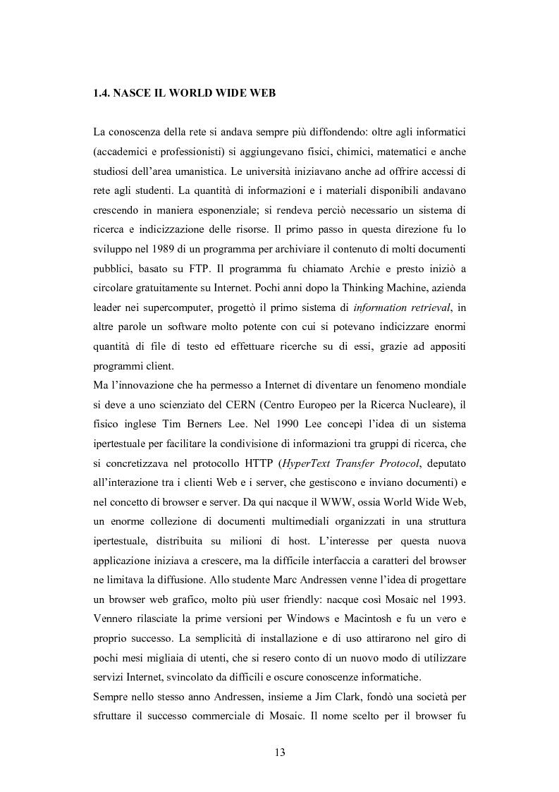 Anteprima della tesi: La diffusione di Internet in Cina: peculiarità e caratteristiche del controllo governativo all'uso di Internet, Pagina 13