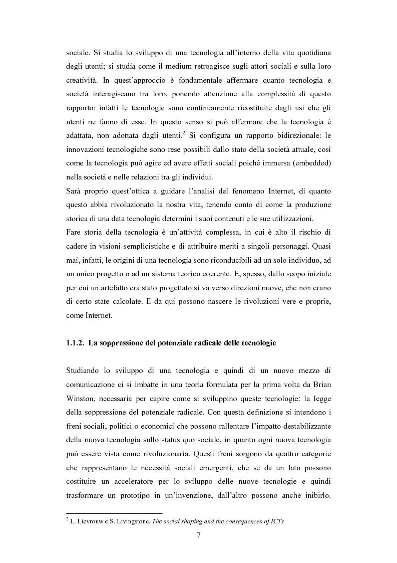 Anteprima della tesi: La diffusione di Internet in Cina: peculiarità e caratteristiche del controllo governativo all'uso di Internet, Pagina 7