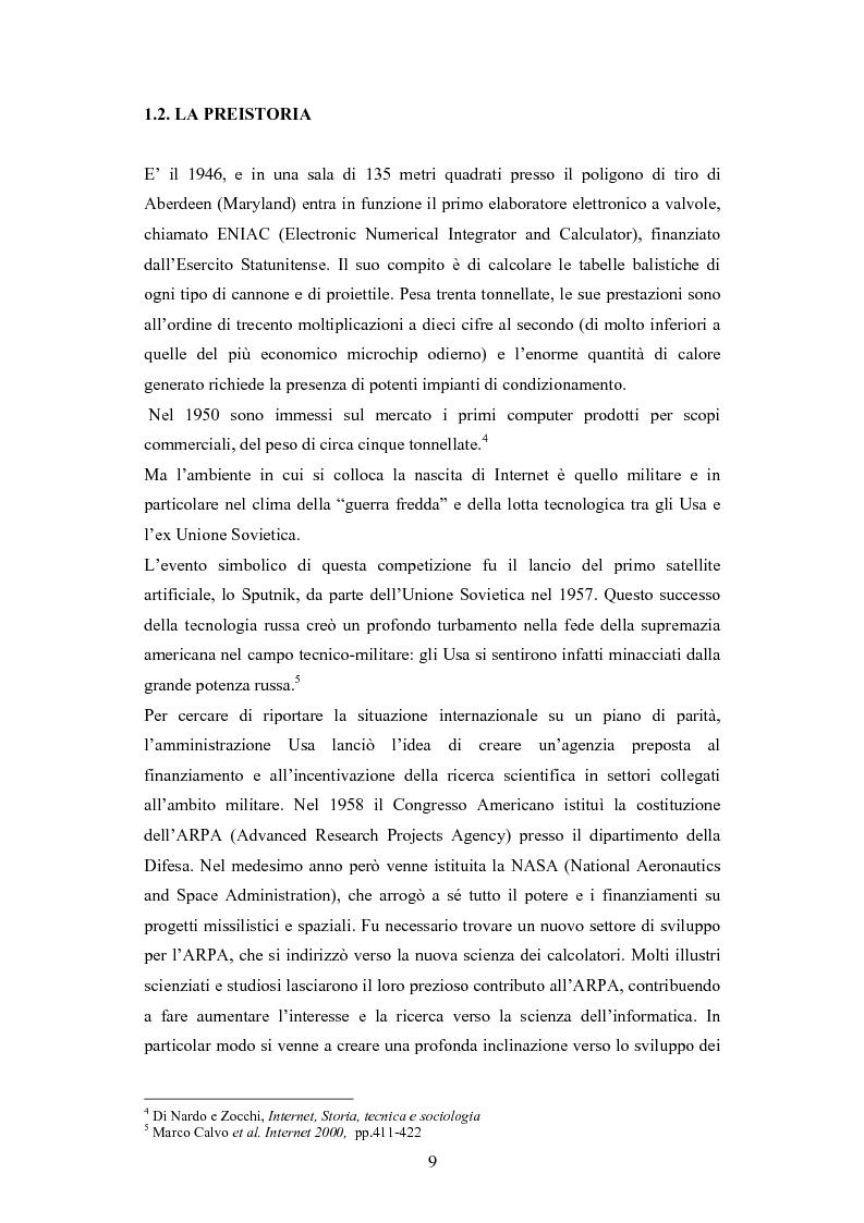 Anteprima della tesi: La diffusione di Internet in Cina: peculiarità e caratteristiche del controllo governativo all'uso di Internet, Pagina 9