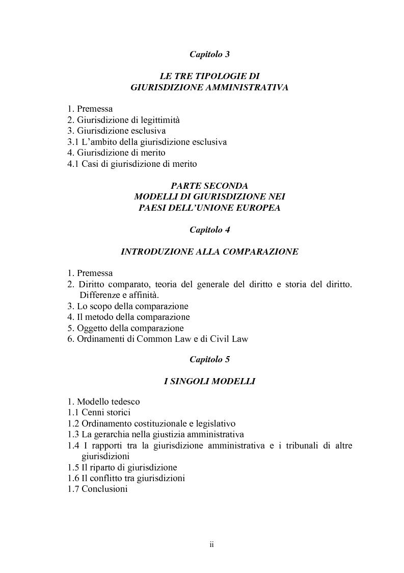 Modelli di giurisdizione amministrativa in Italia e nei