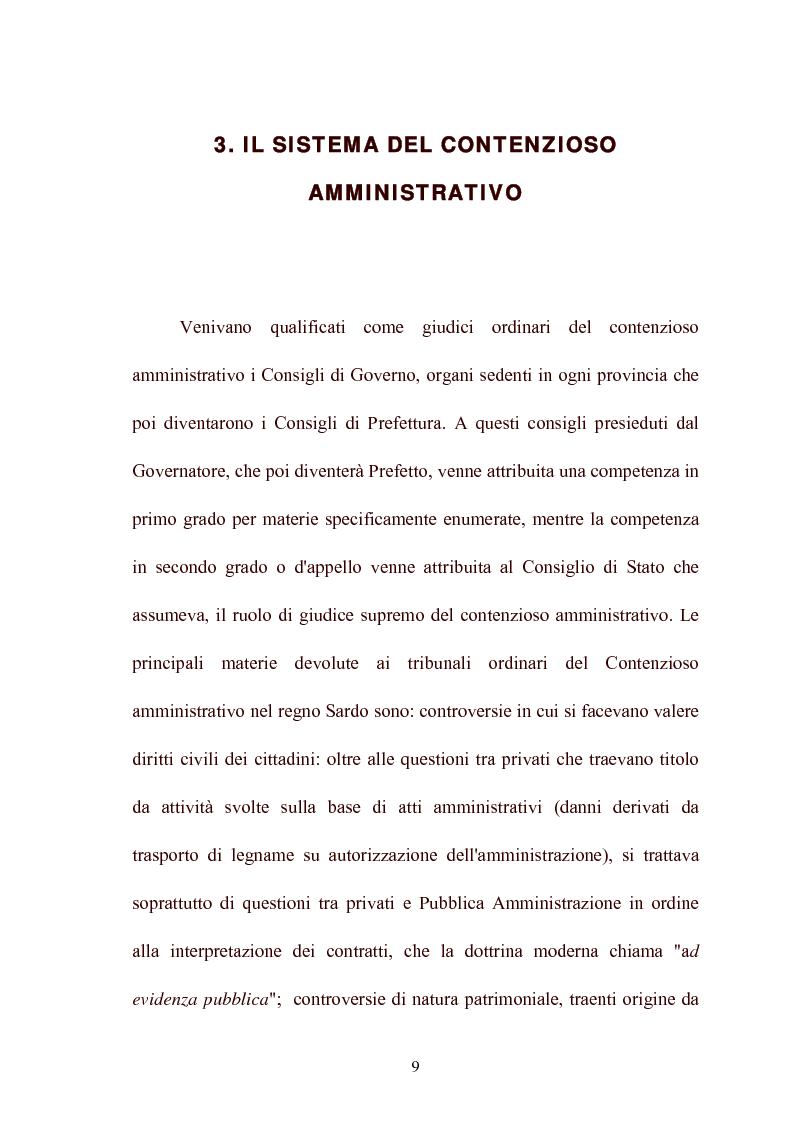 Anteprima della tesi: Modelli di giurisdizione amministrativa in Italia e nei paesi dell'Unione Europea, Pagina 11