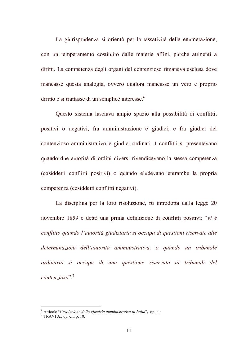 Anteprima della tesi: Modelli di giurisdizione amministrativa in Italia e nei paesi dell'Unione Europea, Pagina 13