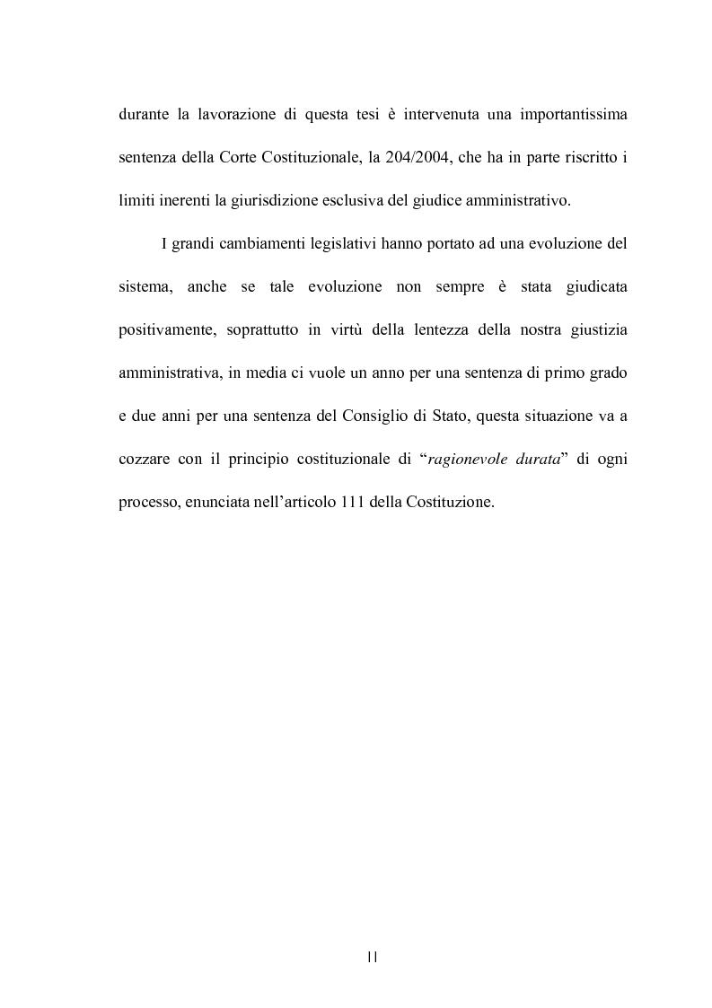 Anteprima della tesi: Modelli di giurisdizione amministrativa in Italia e nei paesi dell'Unione Europea, Pagina 2
