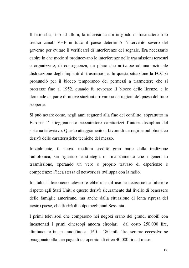 Anteprima della tesi: La Tv digitale come personal medium. Rai Click, la prima Tv on Demand in Italia., Pagina 13