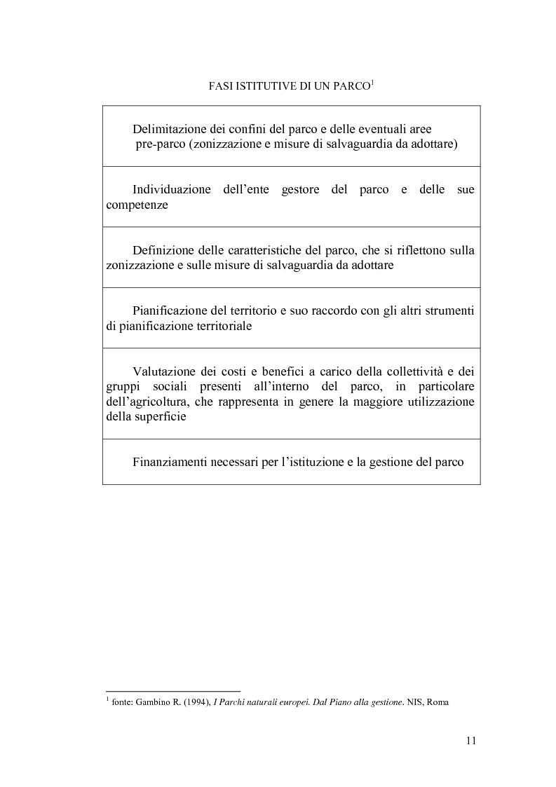Anteprima della tesi: Aspetti economici e strutturali del Parco Fluviale dell'Alcantara, Pagina 9