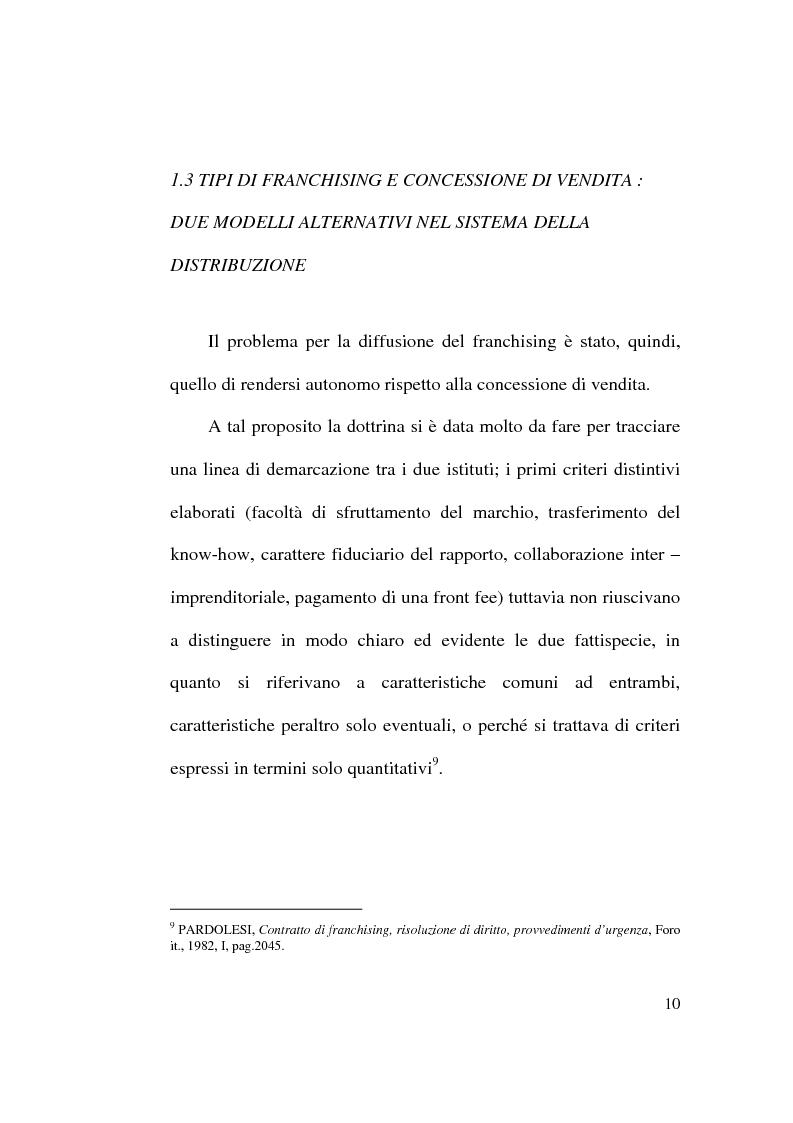 Anteprima della tesi: Intese restrittive della concorrenza e accordi di distribuzione selettiva, Pagina 10