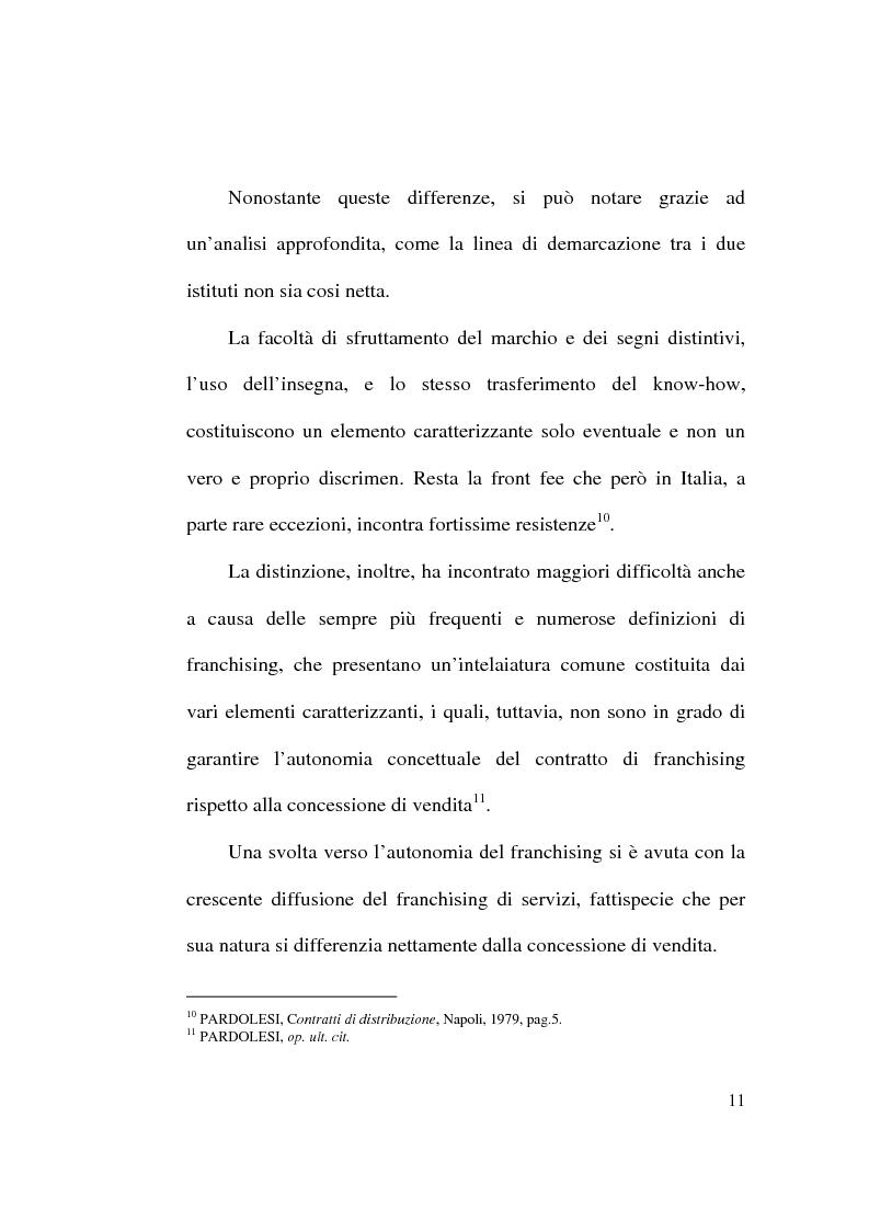Anteprima della tesi: Intese restrittive della concorrenza e accordi di distribuzione selettiva, Pagina 11