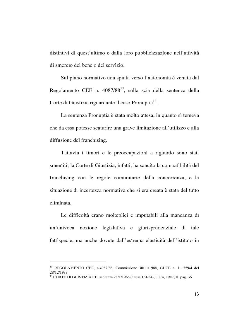 Anteprima della tesi: Intese restrittive della concorrenza e accordi di distribuzione selettiva, Pagina 13