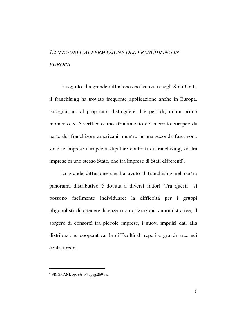 Anteprima della tesi: Intese restrittive della concorrenza e accordi di distribuzione selettiva, Pagina 6