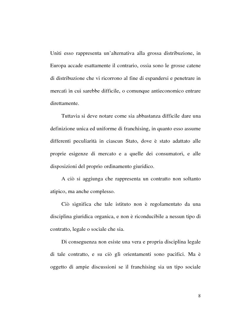 Anteprima della tesi: Intese restrittive della concorrenza e accordi di distribuzione selettiva, Pagina 8