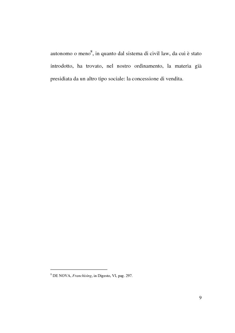 Anteprima della tesi: Intese restrittive della concorrenza e accordi di distribuzione selettiva, Pagina 9