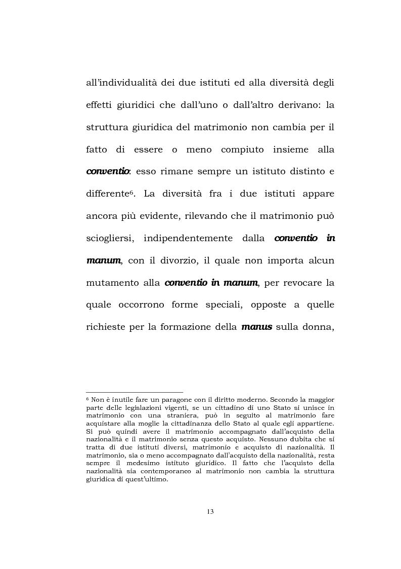 Anteprima della tesi: Il matrimonio romano, Pagina 11