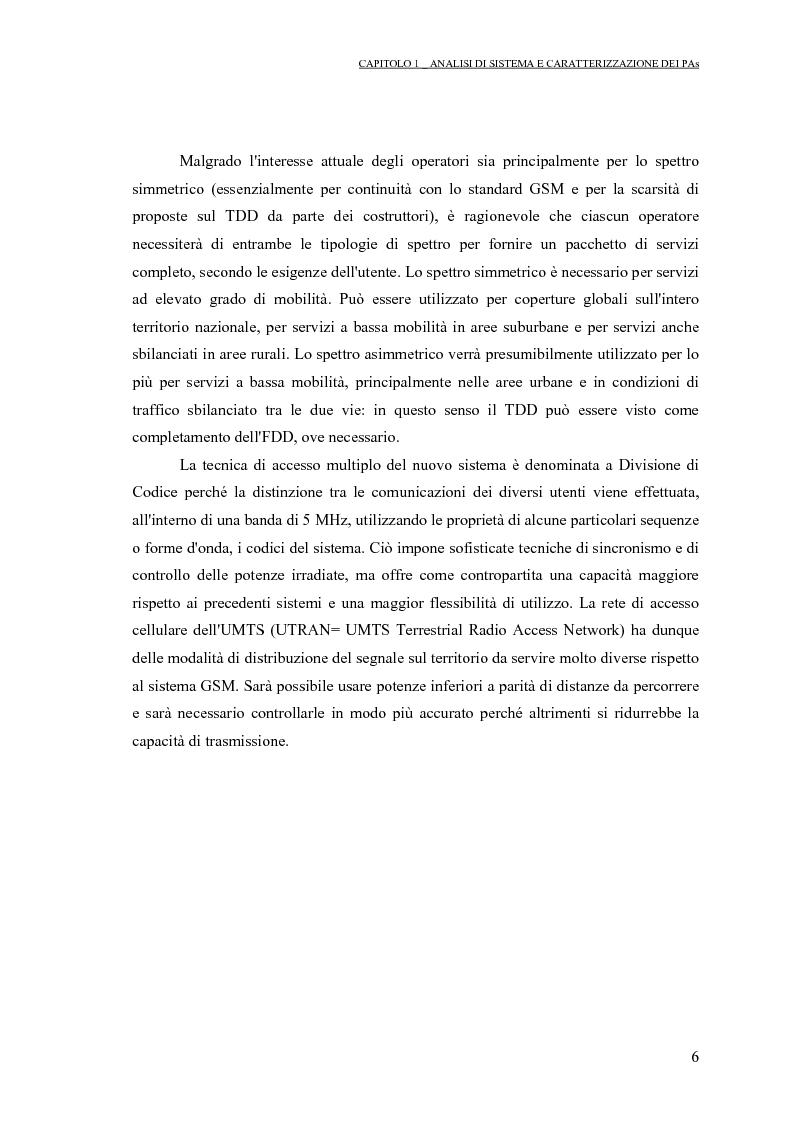 Anteprima della tesi: Progetto di PAs SWITCHING-MODE per applicazioni lineari alla telefonia cellulare 3G, Pagina 10